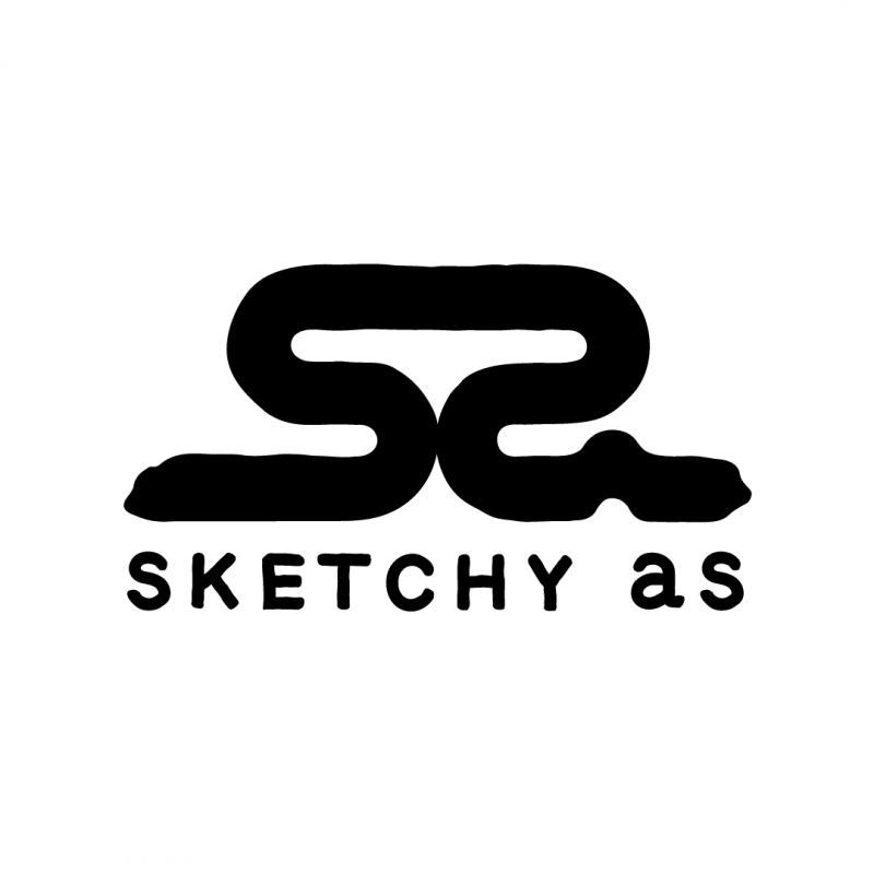 Sketchy As logo