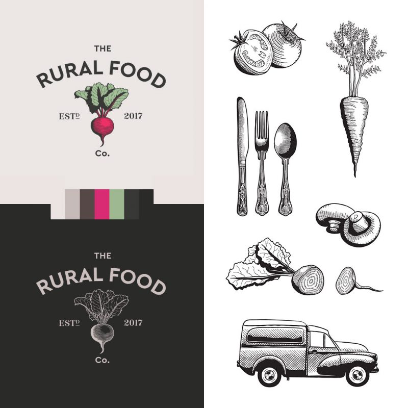 the-rural-food-company-branding
