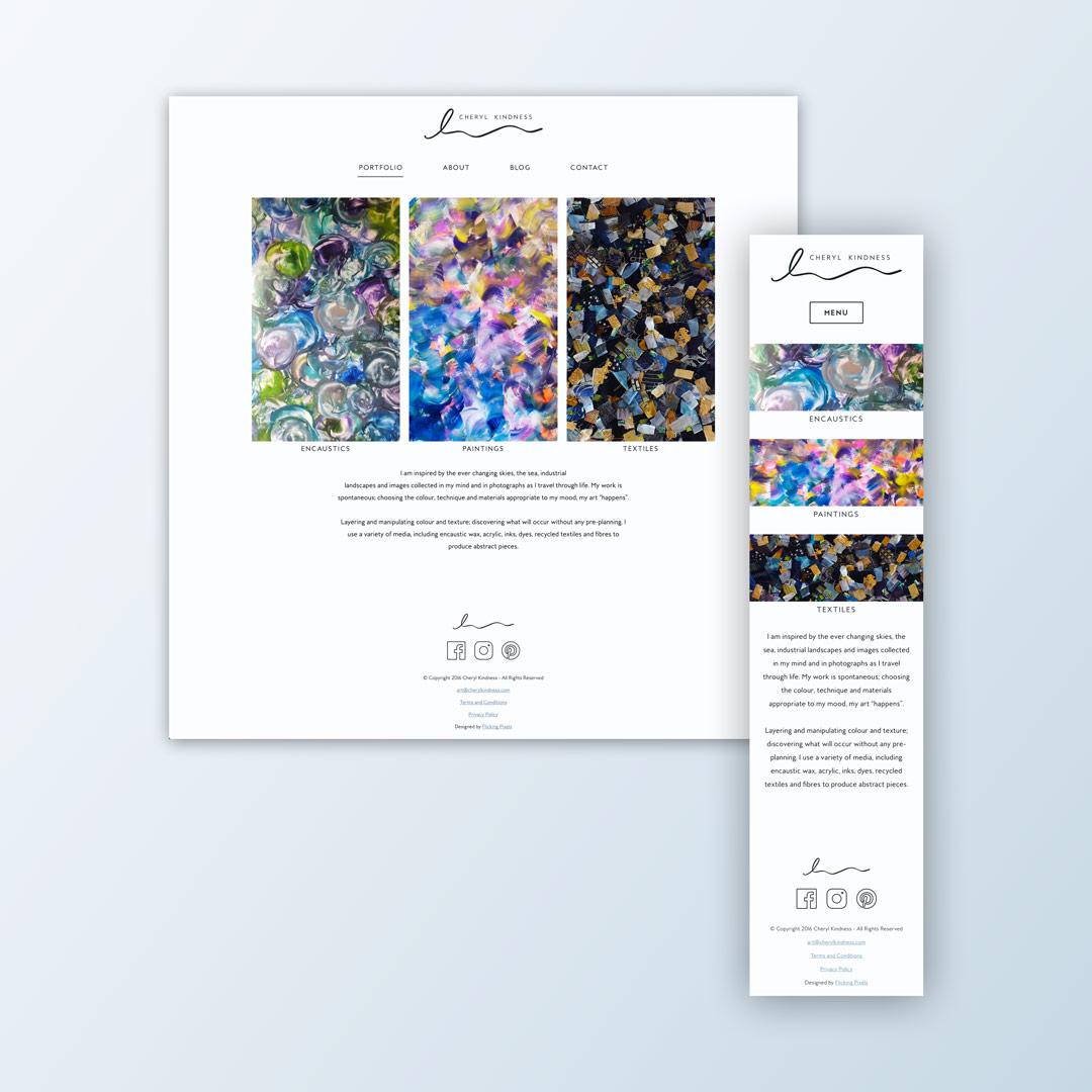 cheryl-kindness-website-design